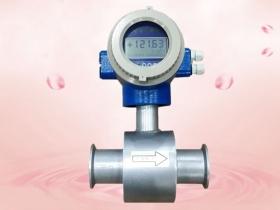 The working principle of electromagnetic flowmeter.