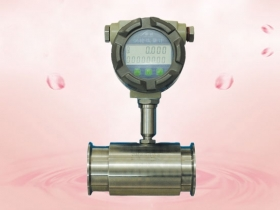 The main points of the embalming turbine flowmeter.