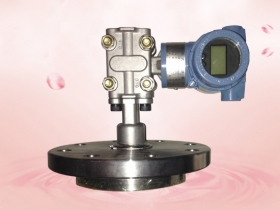 The pressure gauge is commonly used.