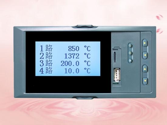 7000A series horizontal liquid crystal display instrument/paperless recorder.