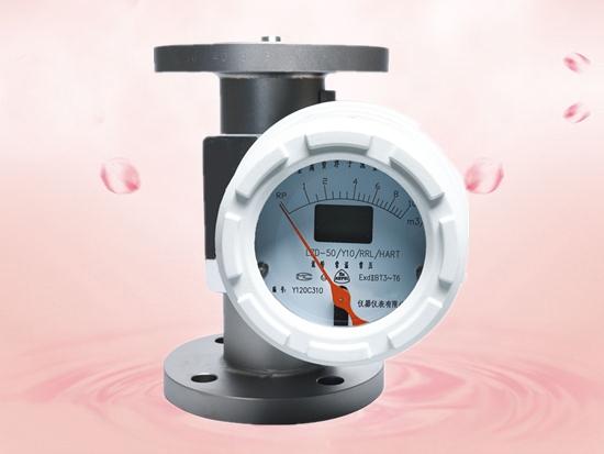 Teletype metal tube float flowmeter