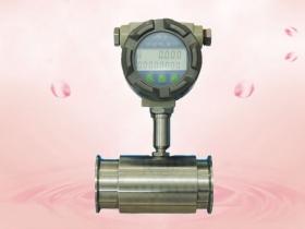 Hx-lwy and hx-lwyc sanitary turbine flowmeter